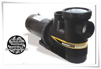 JACUZZI MAGNUM FORCE PUMPPS HIGH PRESSURE RING-LOK SYSTEM มอเตอร์ปั๊มน้ำ